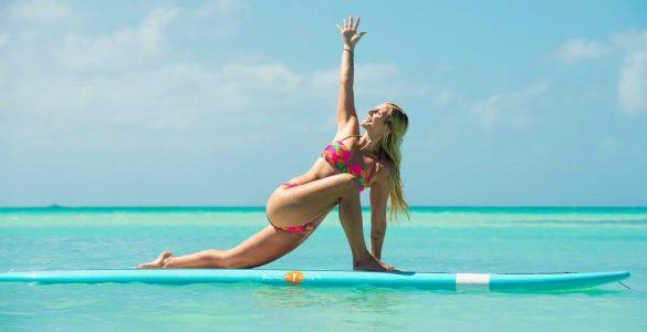 ¡A perderle el miedo al SUP Yoga!
