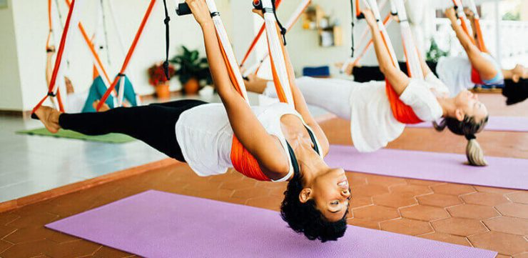Aeroyoga: una alternativa divertida y creativa