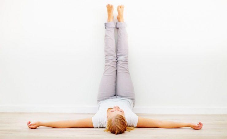 Posturas de Yoga para mejorar la circulación