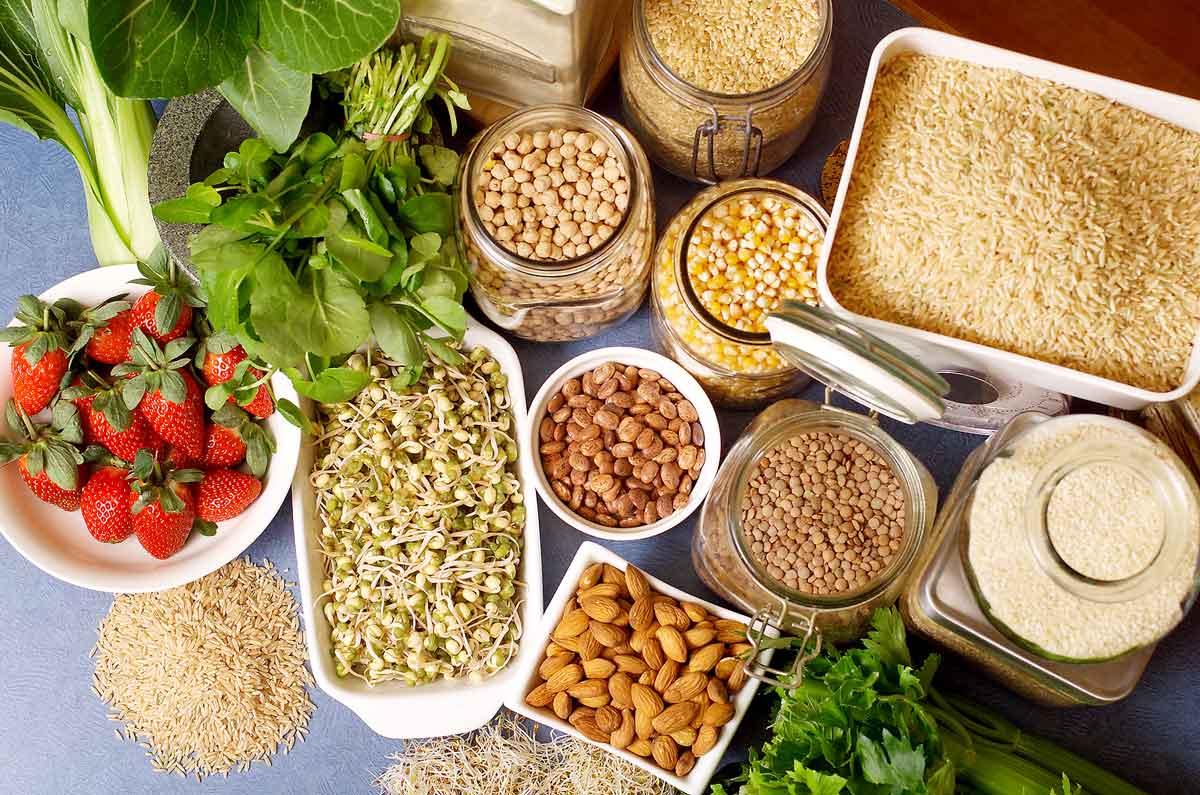 Alimentos recomendados en una dieta holística