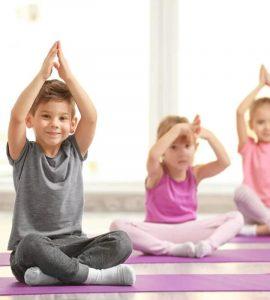 Yoga, meditación y respiración para calmar a los chicos