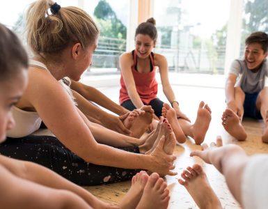 Clase de Yoga para Jóvenes y Adolescentes
